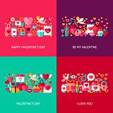 Valentines Day Greeting Set