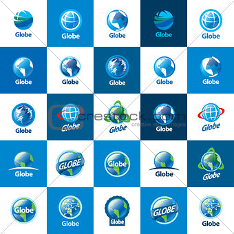 abstract logo Globe