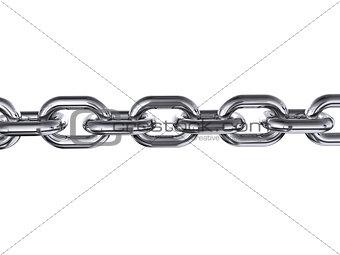 Chromed chain