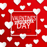 Valentines day super sale.