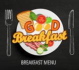 Good Breakfast, vector.