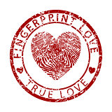Fingerprint Love-True Love
