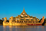 Karaweik Palace Restaurant Yangon  Myanmar