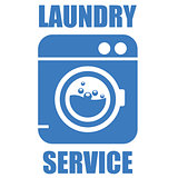 Laundry (washhouse) service simple icon