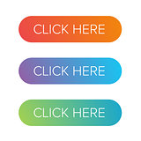 Click Here flat button set