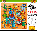 how many robots activity