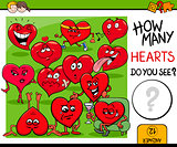 how many hearts activity