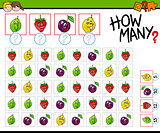how many fruits activity