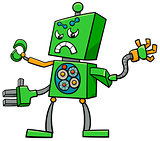 cartoon robot fantasy character