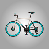 Bicycle Vector Design