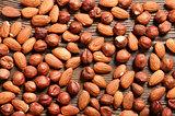 Almond and hazelnut