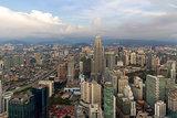 Kuala Lumpur Modern City Aerial View