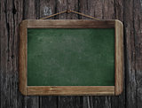 menu chalkboard or blackboard in restaurant