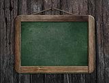 menu chalkboard or blackboard in restaurant