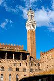 Torre del Mangia - Siena Toscana Italy