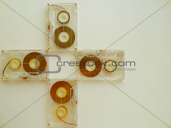 Audio cassettes for recorder