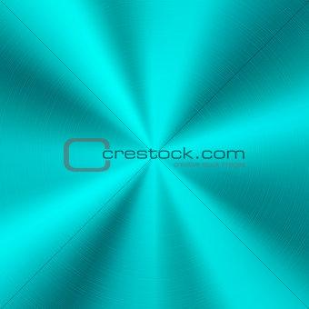 Cyan Metal Technology Background
