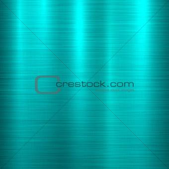 Blue Metal Technology Background