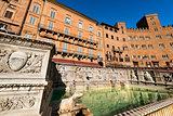 Fonte Gaia - Siena Toscana Italy