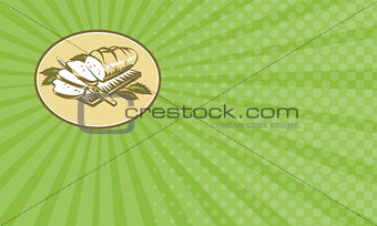 Daily Bread Baker Business card
