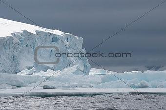 Antarctica view form the ship