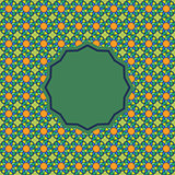 Abstract pattern in Arabian style.