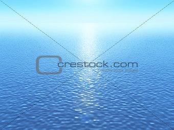 3D ocean background