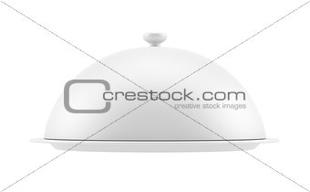 Closed cloche, isolated