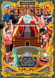 Circus Carnival Park Poster Tent Invite Theme Vector Illustratio