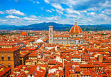 Cathedral santa maria del fiore florence view