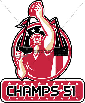 Football Champs 51 Atlanta Retro