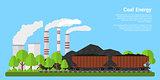 Coal energy banner