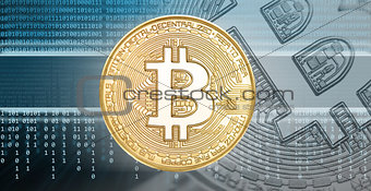 cryptocurrencies or bitcoin concept