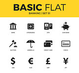 Basic set of Banking icons