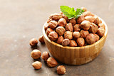 natural organic nut hazelnut