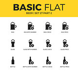 Basic set of beer icons