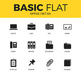 Basic set of Office icons