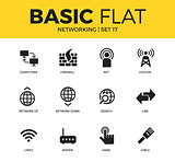 Basic set of Networking icons
