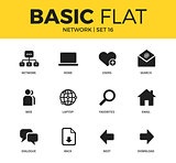 Basic set of Network icons