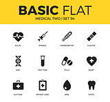 Basic set of Medical two icons