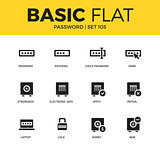 Basic set of Password icons