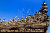 Shwenandaw Monastery Mandalay city Myanmar