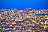City of Trieste aerial view