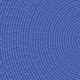 Binary Code Blue Background.