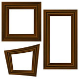 Set of Different Wooden Frames