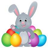 Stylized Easter bunny theme image 2
