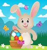 Stylized Easter bunny theme image 4