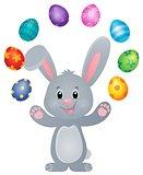 Stylized Easter bunny theme image 5
