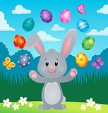 Stylized Easter bunny theme image 6