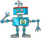 robot cartoon character